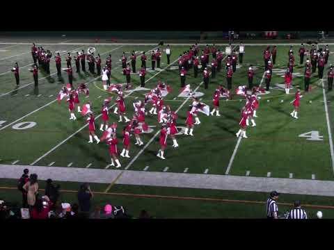 Cranston West Band- September 28, 2018 Halftime