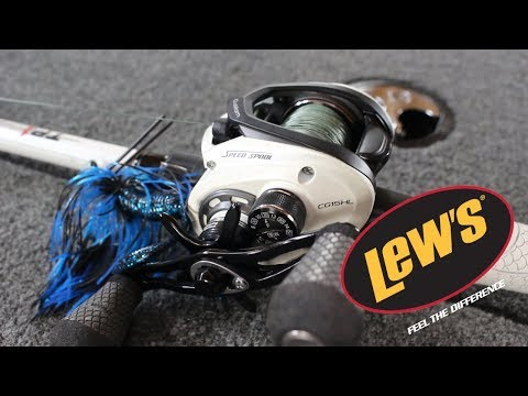 OH MY GOD!!! THIS Rod and Reel Combo is SICK!! Lews TP1 Series Review