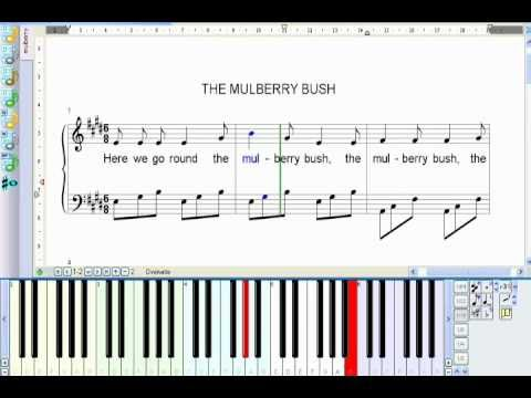 how to read virtual piano music sheets