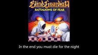 Blind Guardian Battalions Of Fear Lyrics