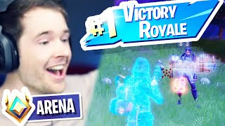 My First Fortnite ARENA WIN!