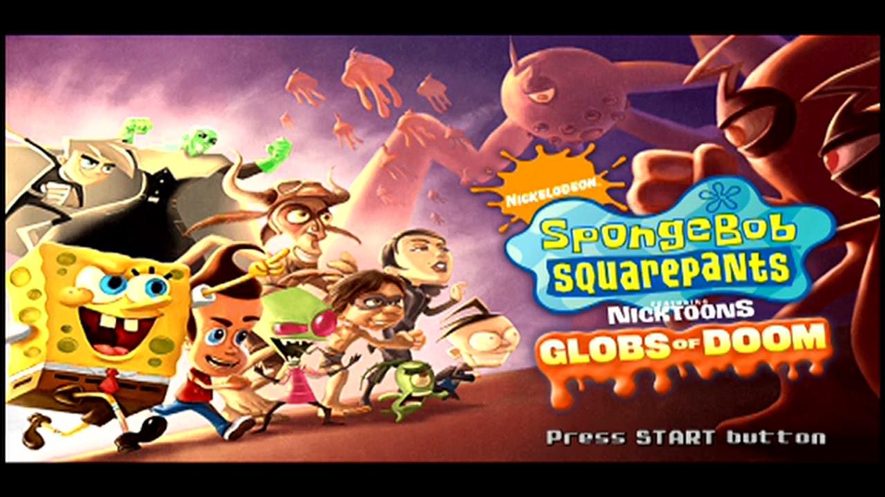 SpongeBob SquarePants featuring Nicktoons: Globs of Doom ... Invader Zim Characters