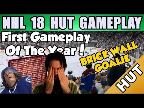 First NHL 18 HUT Gameplay! - NHL 18 - Hockey Ultimate Team Gameplay - Competitive Seasons 1