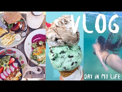 DAY IN MY LIFE ~ VEGAN FOOD I ATE & COLD SWIMS