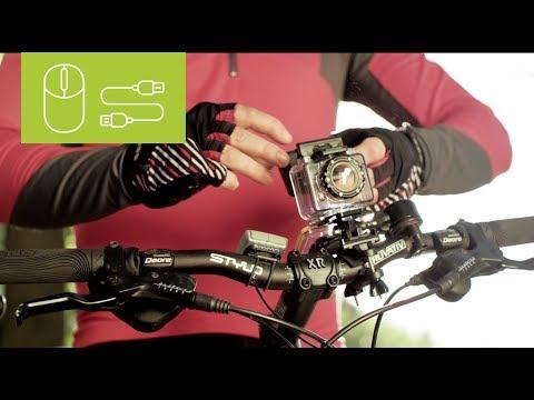Die MEDION® LIFE® WIFI Action Cam