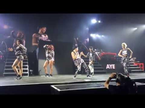 Pharrell Williams - The Dear Girl Tour - The BAES Girls - Dance Off Twerk