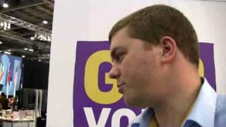Joe Rowley interviews Sam Graham-Felsen, one of Obama's bloggers, at G20