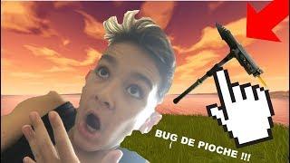 BUG FORTNITE !!! IN THE PIOCHE