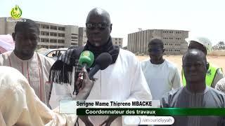 Serigne Mame Thierno MBACKE Coord. des travaux de l'Université sur le démarrage du réseau routier