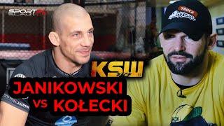 Damian Janikowski i Szymon Kołecki - dwóch olimpijczyków w klatce KSW!