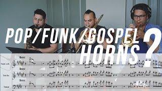 pop meets funk gospel horns tutorial