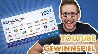 100€ BestChoice-Gutschein - YouTube Gewinnspiel   DealDoktor