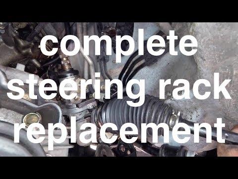 Heavy Fluid LEAK Diagnose Replace Steering Rack Toyota Sienna√ Fix It Angel