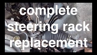Heavy fluid LEAK Diagnose Replace Steering Rack Toyota Sienna√ Fix it angel