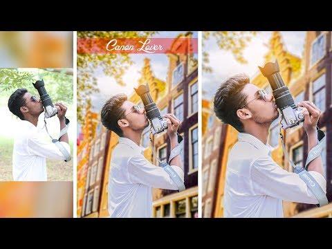 Canon Lover - Photo manipulation - Picsart Edit Tutorial Public