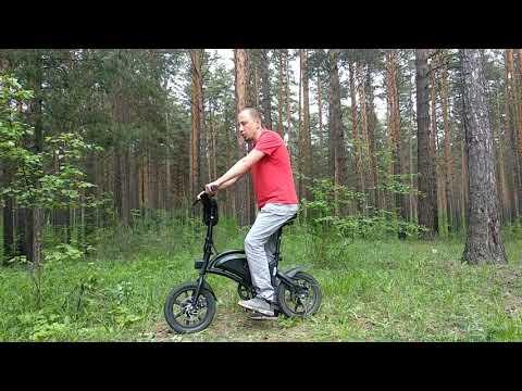 Электровелосипед Kugoo V1, 400W, 7,5Ah реальный отзыв