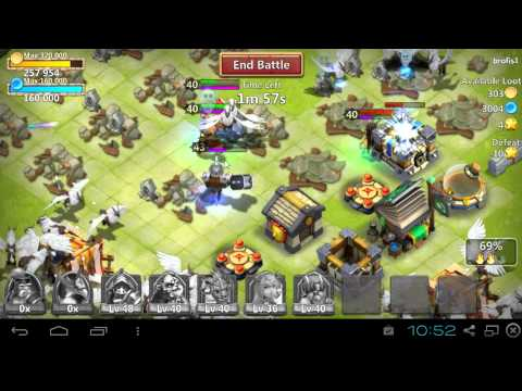 My First Castle Clash Video W/MC Zimemaster12