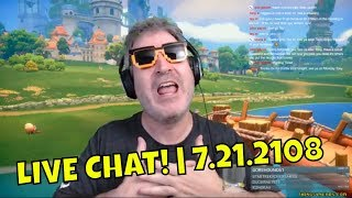 SATURDAY COFFEE & CHAT! | Playing My Time At Portia | 7.21.2018 🤓🖖☕ [REPLAY]