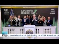 Standard Diversified Inc. Rings the NYSE Closing Bell