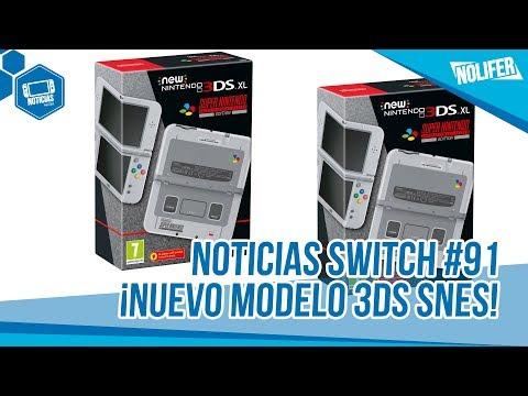 Nintendo Switch Noticias #91 ¡Nueva 3DS XL SNES EDITION! WTF / #NintendoSwitch #NEW3DS #Nintendo