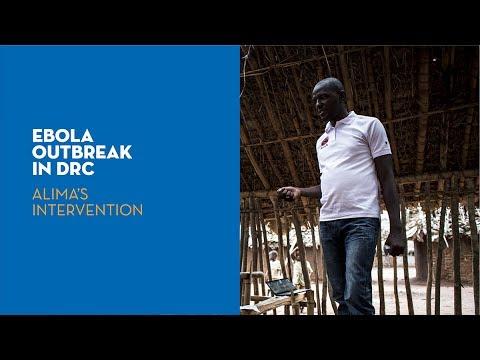 Ebola outbreak in DRC: ALIMA's intervention