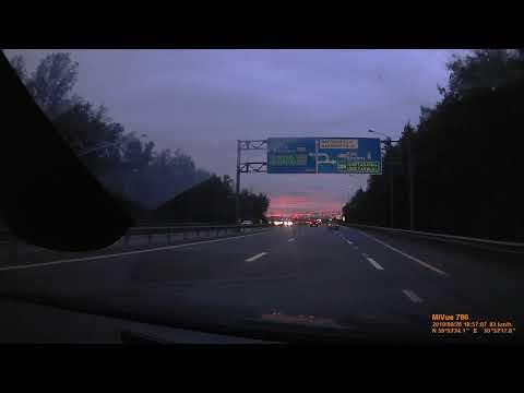 Авария 26.09.2019 на Мурманском шоссе.  Смотреть можно C 25 секунды.