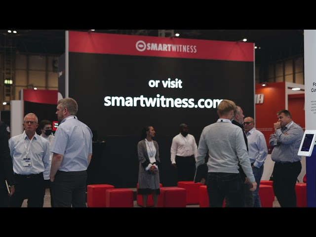 London Audio Visual - Exhibition Stand for client 'Smart Witness' at the NEC Birmingham.