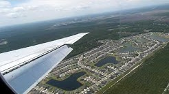 Delta Air Lines MD-88 Landing in Jacksonville
