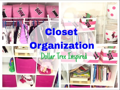 Closet Organization Dollar Tree Inspired