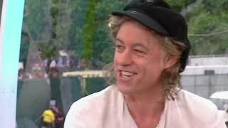 Bob Geldof & Michael Buerk Interviewd by Jonathan Ross Live 8 2nd July 2005