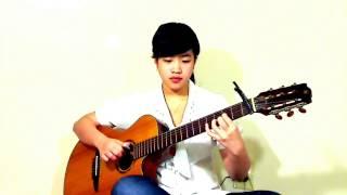 Quê Hương Việt Nam ( Virginia Nguyen - Bé Mẫn) guitar solo