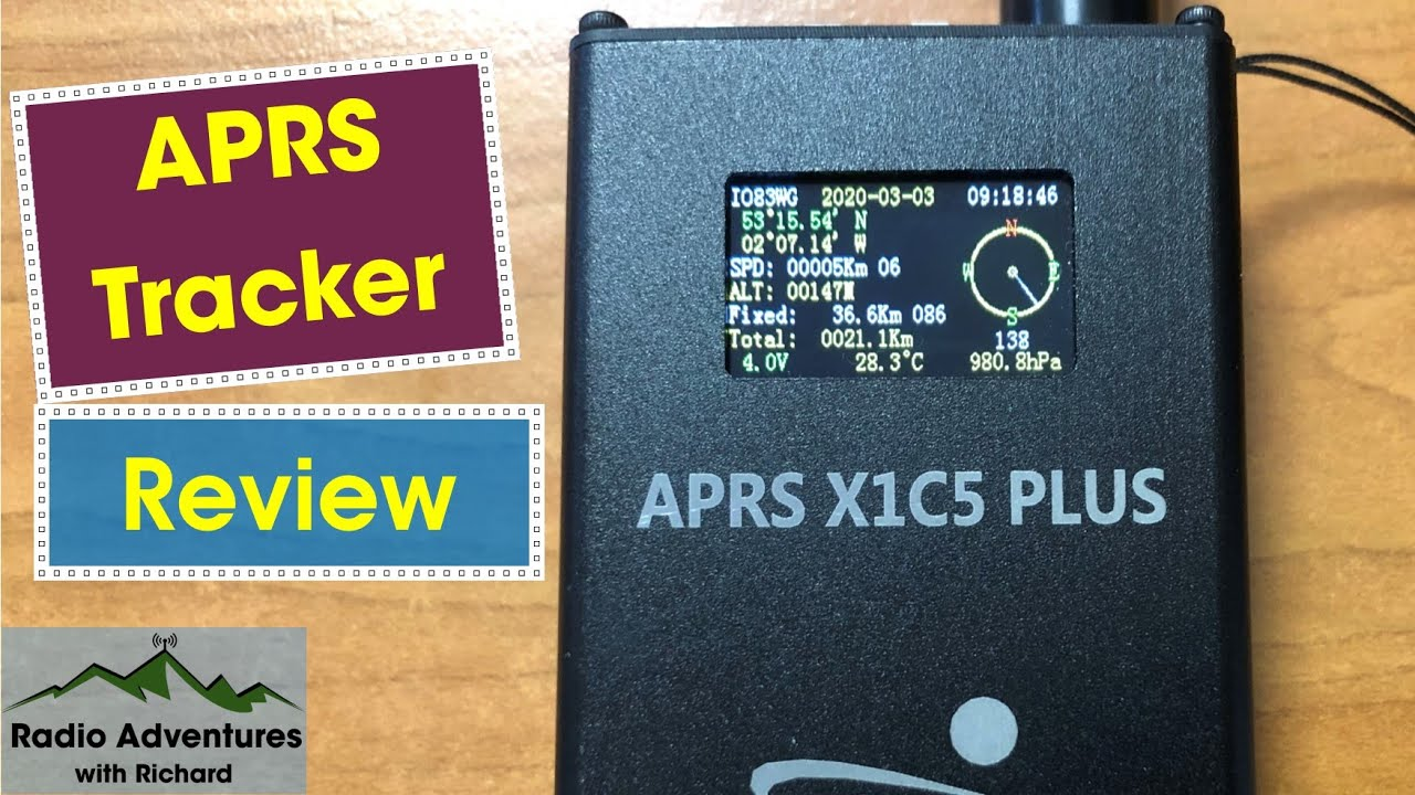 Download A good Chinese device? X1C5 APRS Tracker Review