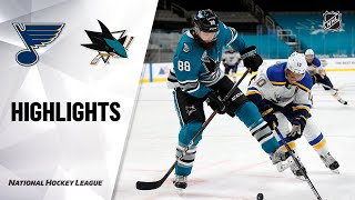 Blues @ Sharks 2/27/21 | NHL Highlights