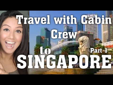 Cabin Crew/Air hostess Travel Fun-Singapore Marina Bay Sands,Bugies Street by Mamta Sachdeva pt1