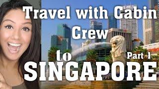 Singapore Vlogs #1 Mamta Sachdeva Air hostess