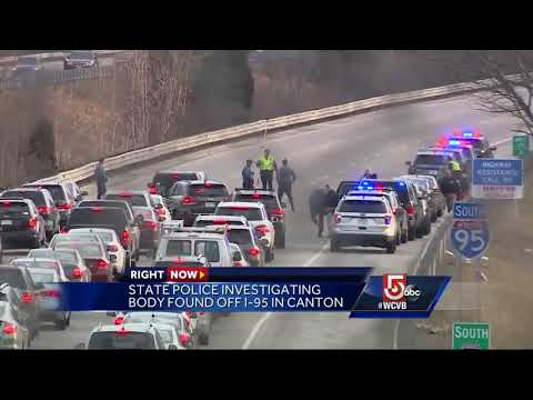 State police investigating body found off I-95 in Canton