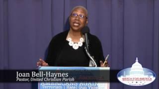 Joan Bell Haynes, Pastor, United Christian Parish | March for America