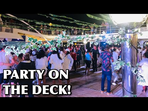 PARTY ON DECK | MSC Musica Cruise | #RegoDise | South African YouTubers