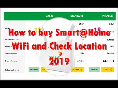 How To Buy Smart@Home WiFi And How To Check Location Smart@Home WiFi 2019