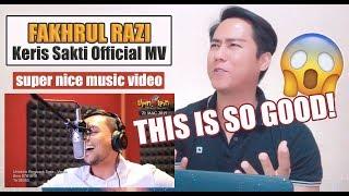 SINGER REACTS Keris Sakti Official MV Fakhrul Razi OST Upin Ipin Keris Siamang Tunggal