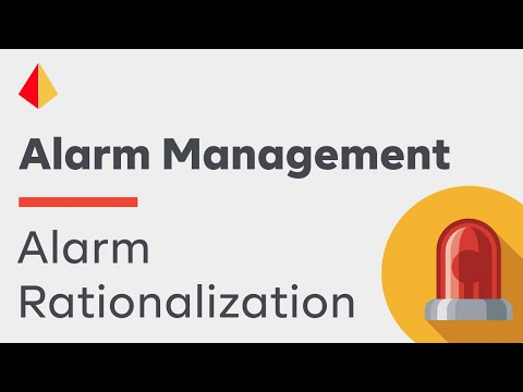 Alarm Rationalization – The Key to an Effective Alarm System