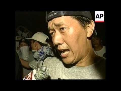 PHILIPPINES: TRANSPORT STRIKE IN MANILLA