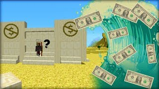 Bohatá TSUNAMI Plná Peněz vs Vykradená Banka DŮM !