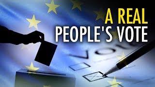 "Fine – Let's have a proper ""People's Vote""   Jack Buckby"