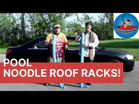 Inexpensive Pool Noodle Car Roof Rack Episode 178 Youtube