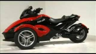 Can-Am Spyder 3 wheeled Bike