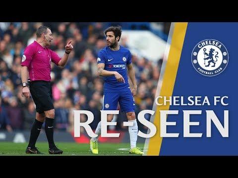 Cesc Fabregas taken out by the ref in Chelsea Re-Seen