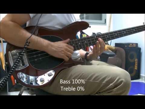 Music Man Stingray Bass Comparison - Pre Ernie Ball vs. Ernie Ball