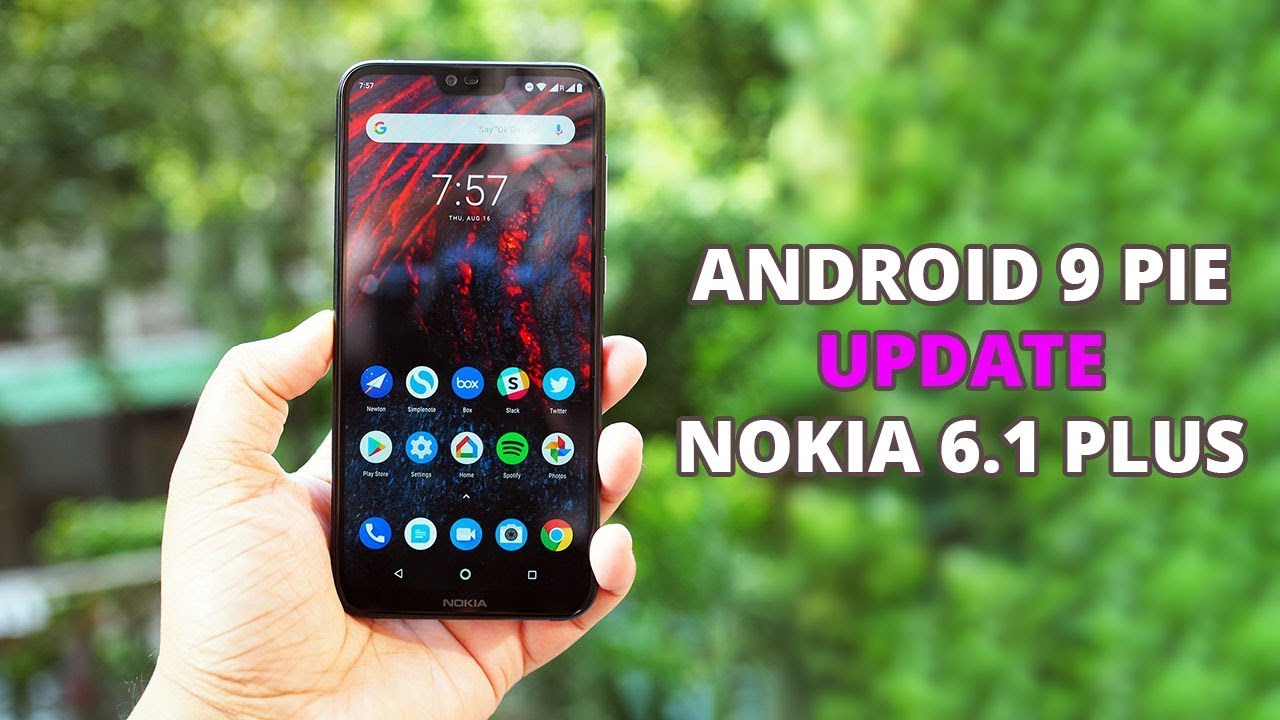 Nokia 6 1 Plus Android P Update | How to Install Android 9 (Pie) Beta  Update on Nokia 6 1 Plus