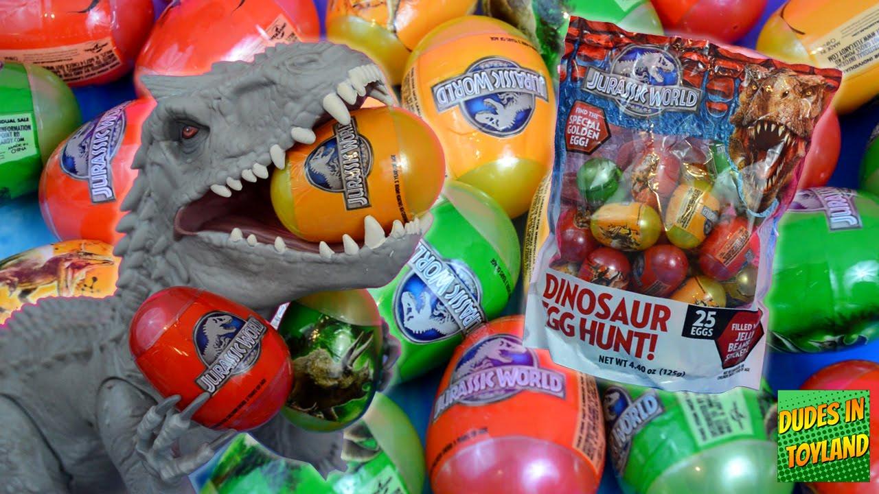 dinosaur eggs jurassic world easter egg hunt dino